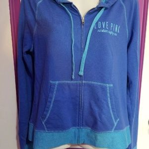 Vs Pink Full zip Hoodie Size Medium